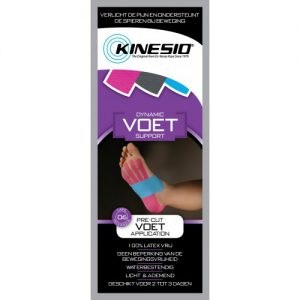 KinesioTape® Pre Cut voor de voet