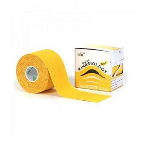 Nasara Kinesiologie tape geel